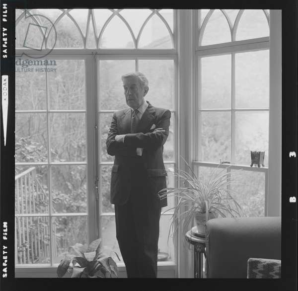 Sir Frederick Ashton OM CH CBE, 1974 (b/w photo)