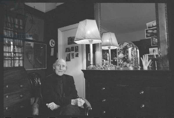 Bill Brandt, January 1977 (b/w photo)