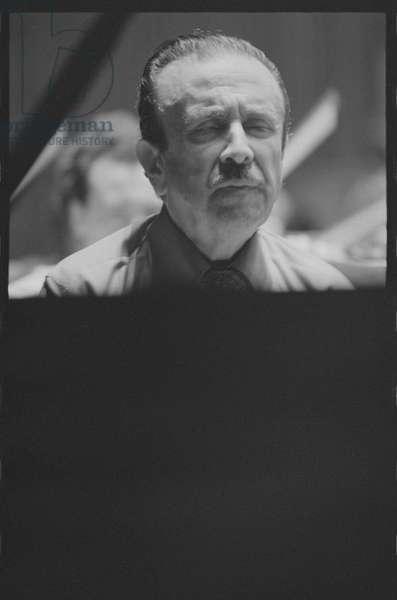 Claudio Arrau, June 1974 (Black and White film)