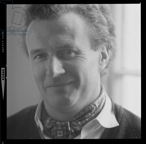 Sir Colin Davis, January 1973 (b/w photo)