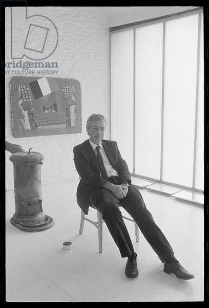 Howard Hodgkin, approx 1980 (b/w photo)