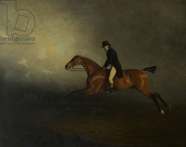Archibald Kennedy, 12th Earl of Cassillis, later 1st Marquess of Ailsa, Riding a Match from Culzean to Glasgow (oil on canvas)