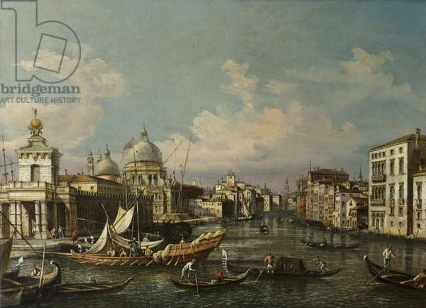 The Mouth of the Grand Canal (oil on canvas)