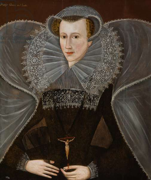 Mary Queen of Scots, early 17th century (oil on panel)