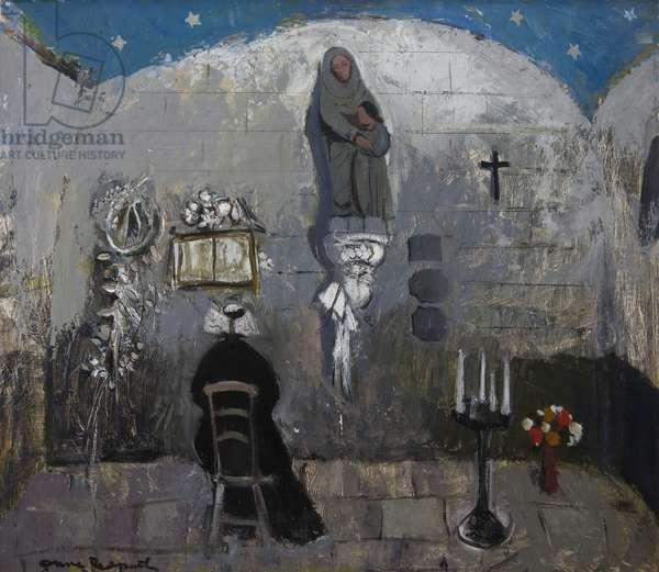 Chapelle de la Croix (oil on artist's board)