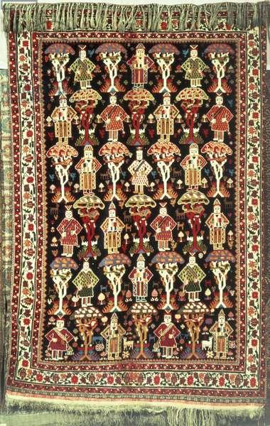 Persian carpet, 19th-20th century