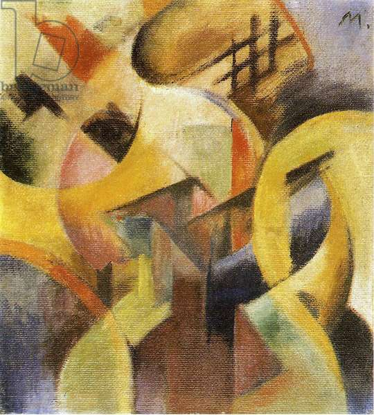 Small Composition I, 1913 (oil on canvas)