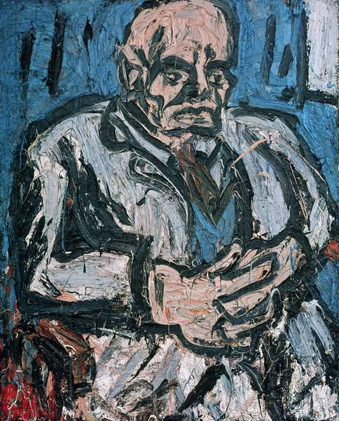 Portrait of Father No.3, 1972 (oil on board)