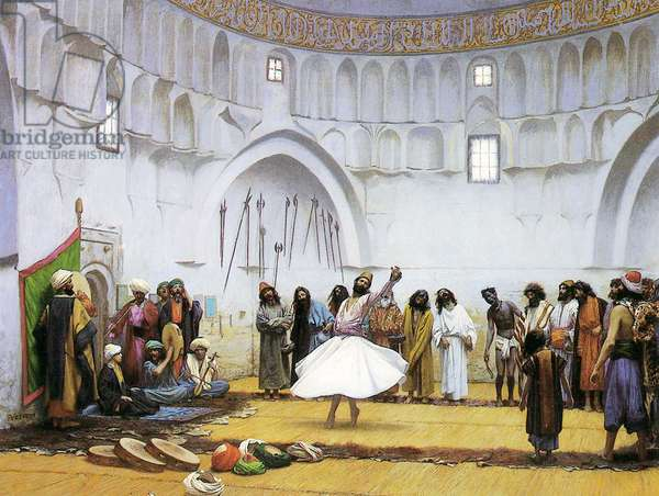Whirling Dervishes, c.1895 (oil on canvas)