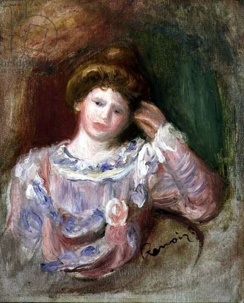 Woman with her Head in her Hand, c.1907 (oil on canvas)