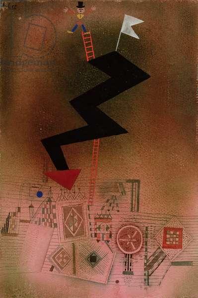 Arrested Lightning, 1927 (no 249) (gouache & w/c on paper on cardboard)