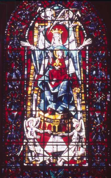 Virgin and Child, c.1965 (stained glass)