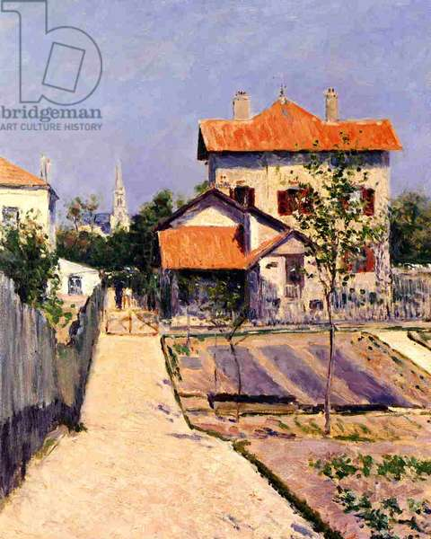The Artist's House at Yerres, c.1882 (oil on canvas)