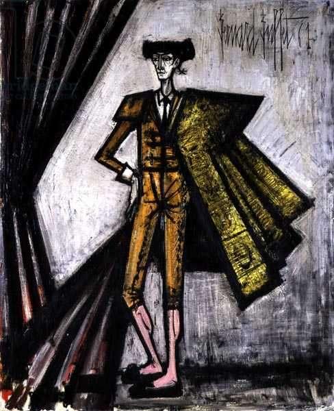 Toreador, 1961 (oil on canvas)