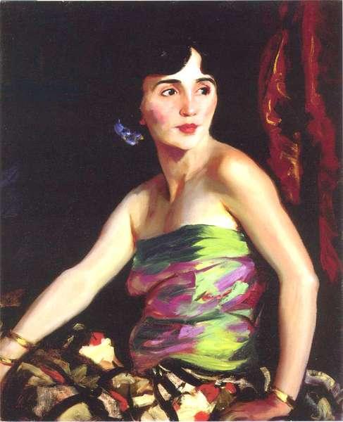 The Spanish Dancer Isolina Maldonado, 1921 (oil on canvas)