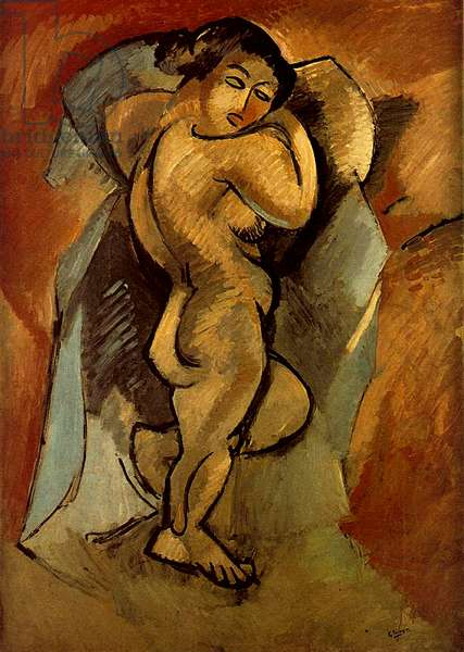 Large Nude, 1908 (oil on canvas)