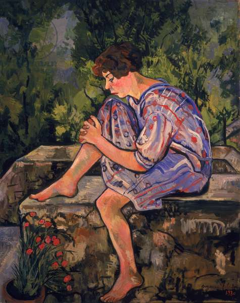 Seated Young Woman, 1930 (oil on canvas)
