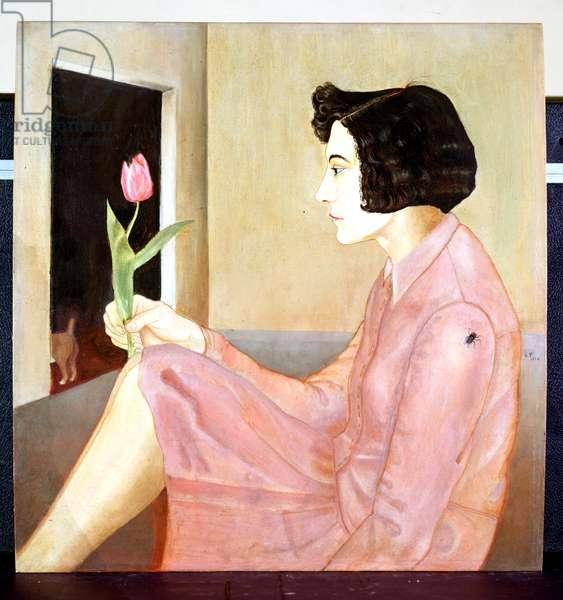 Portrait of Gerda, 1926 (oil on canvas)