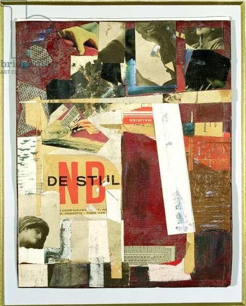 N.B., 1947 (collage)