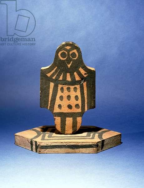 Black Owl Tile, 1956 (terracotta)
