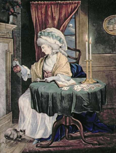 December, c.1790 (w/c on paper)