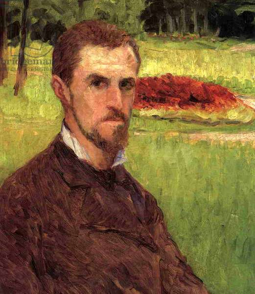 Self Portrait, 1875-76 (oil on canvas)
