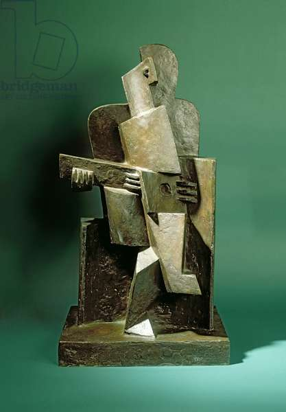 Guitarist I, c.1918 (bronze)
