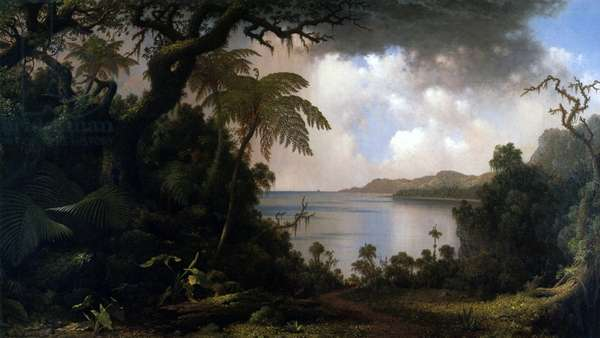 Jamaica, View from Fern-Tree Walk, 1887 (oil on canvas)