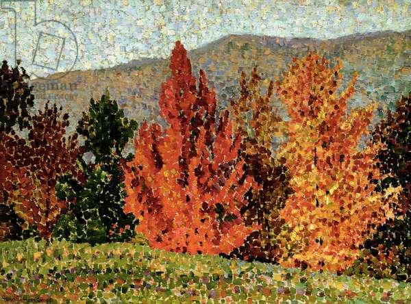 Autumn Landscape, c.1903 (oil on canvas)