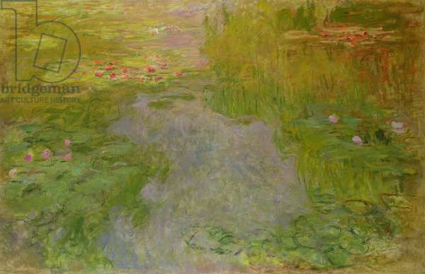 Waterlilies, c.1919 (oil on canvas)