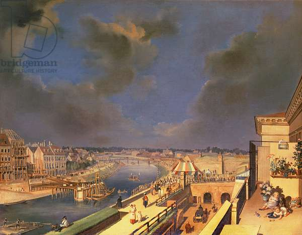 View of Vienna, 1819 (oil on canvas)