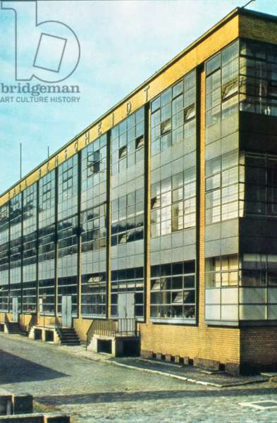 The Fagus Shoe Factory, designed by Walter Gropius (1883-1969) and Adolph Meyer, 1910-11 (photo)