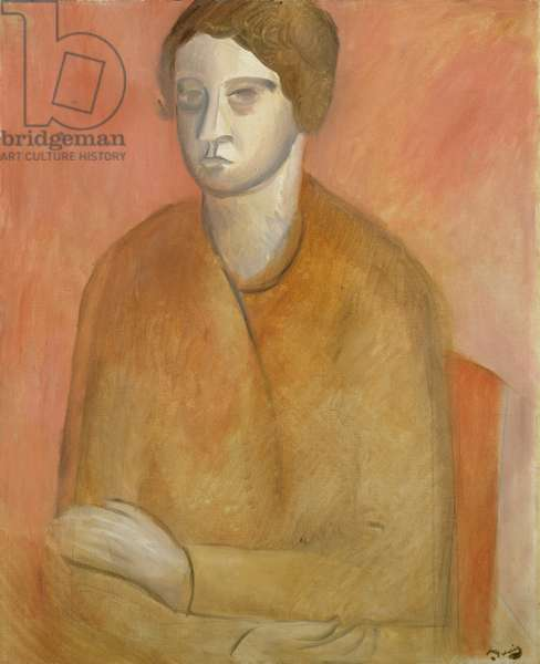 Seated Woman, c.1912 (oil on canvas)