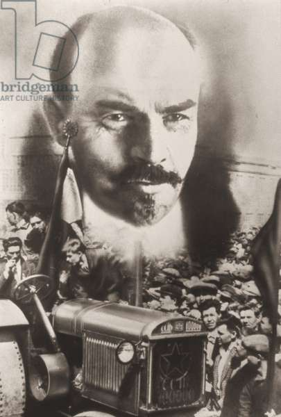 Lenin's Vision Becomes Reality, 1934 (photomontage)