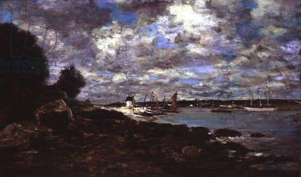 Plougastel-Daoulas (oil on canvas)