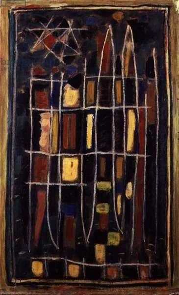 Composition 106, 1953 (oil on canvas)