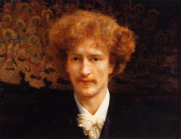 Portrait of Ignacy Jan Paderewski, 1891 (oil on canvas)