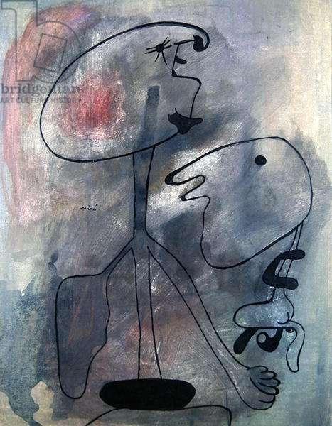 Figures (gouache & ink on paper)