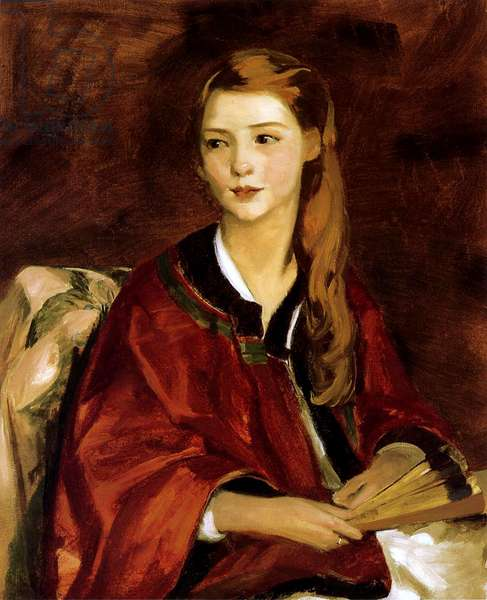 Beatrice Wittaker, 1919 (oil on canvas)