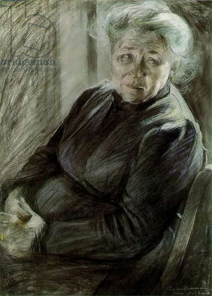 The Mother, 1906 (pastel on paper)