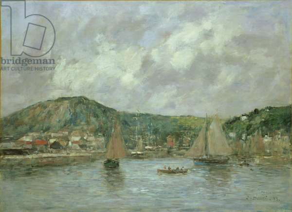 Cherbourg, 1883 (oil on canvas)