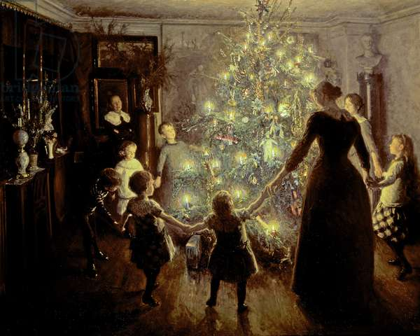 Silent Night, 1891 (oil on canvas)