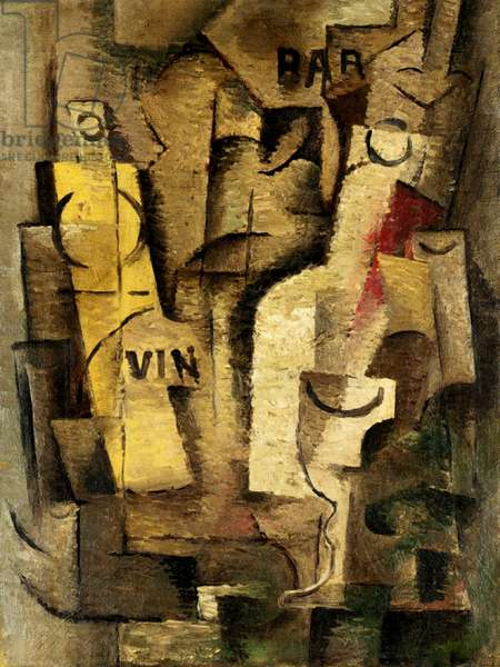 Cubist Composition, c.1911-13 (oil on canvas)