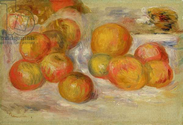 Still Life with Apples, c.1898 (oil on canvas)