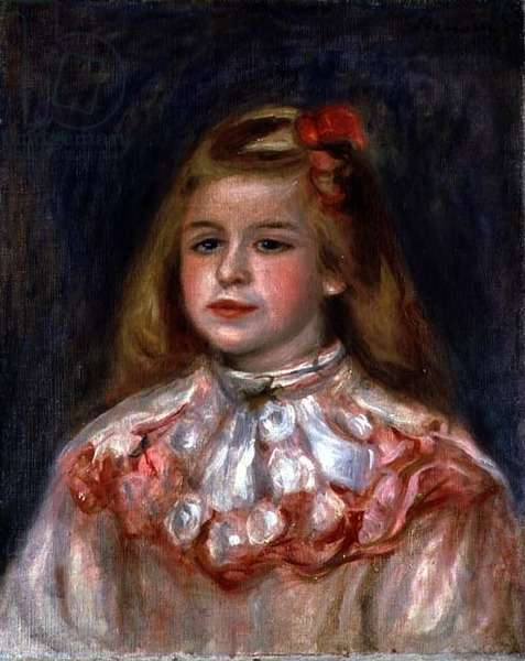 Portrait of a Young Girl, c.1895 (oil on canvas)
