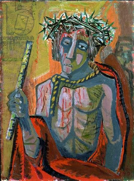 Ecce Homo, 1949 (oil on panel)