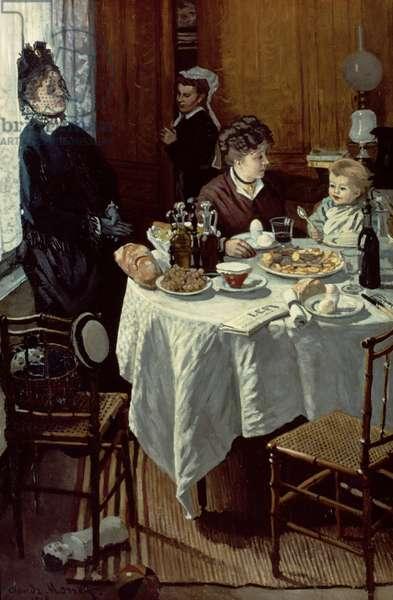 The Breakfast, 1868 (oil on canvas)