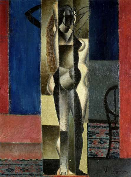 Cubist Nude in Front of a Mirror, c.1912 (oil on canvas)