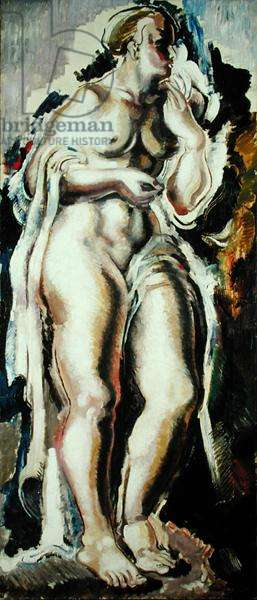 Standing Female Nude, 1924 (oil on canvas)