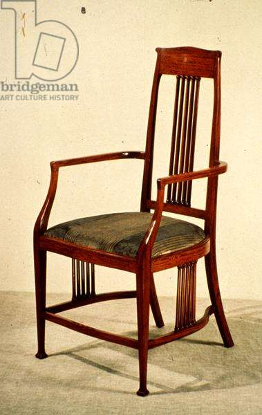 Liberty & Co. chair (satinwood)